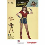 8196  Simplicity Pattern: Ladies Super Hero Costume